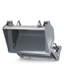 Attachment tools for Wheel Loaders - High tip bucket