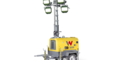 light tower with integrated generator LTS - LED