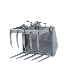 Attachment tools for Wheel Loaders - Fork & grab - small