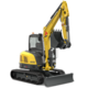 Tracked Zero Tail Excavators - EZ50