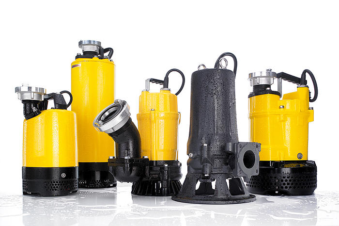 Wacker Neuson's submersible pumps at a glance