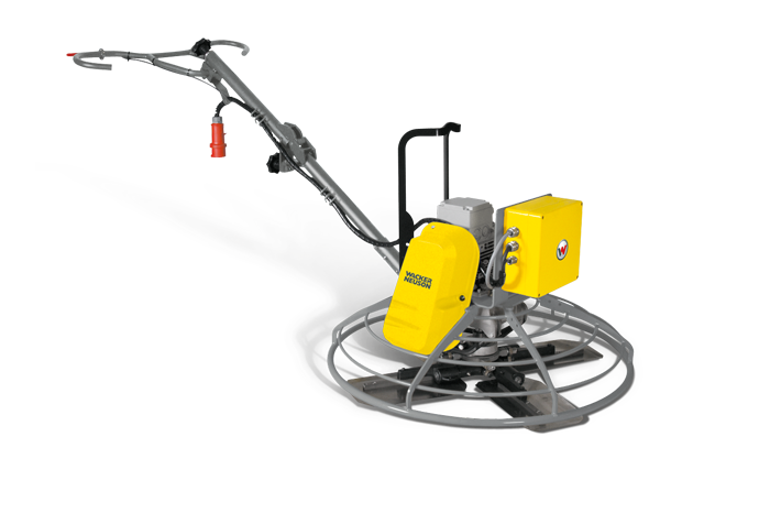 Electric walk-behind trowels