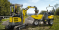 Wacker Neuson wheel dumper 1501in action