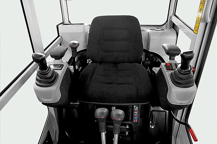The new interior - modern, comfortable and functional