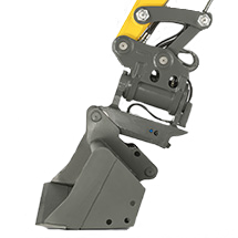 quickhitch system for mini, compact and wheeled excavators - EASY LOCK - hydraulic quickhitch system