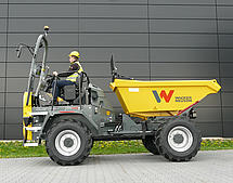 dual view concept for wheel dumpers