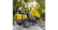 Wacker Neuson wheel dumper 1501 in action