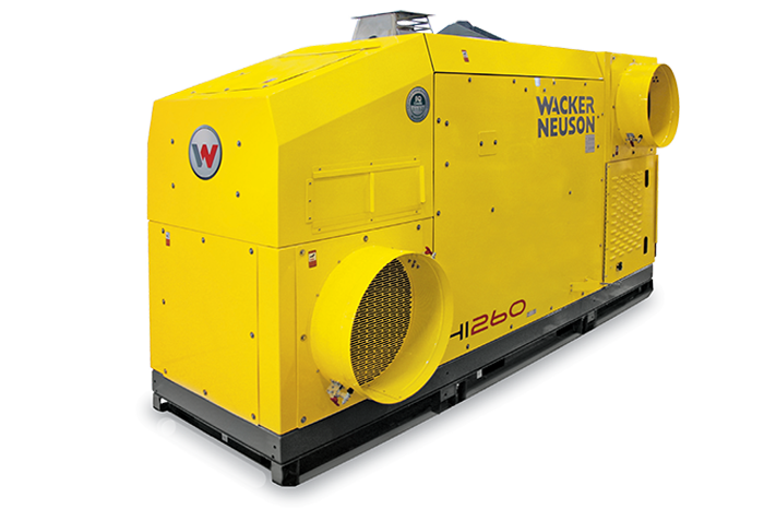 HI260 Indirect-fired Air Heater - skid mounted