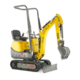 Tracked Conventional Tail Excavators - 803