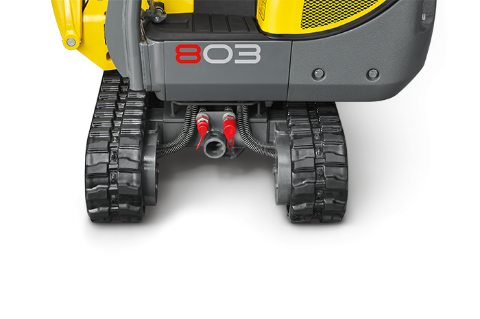 Подключение Wacker Neuson 803 dual power