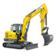 Tracked Conventional Tail Excavators - ET65