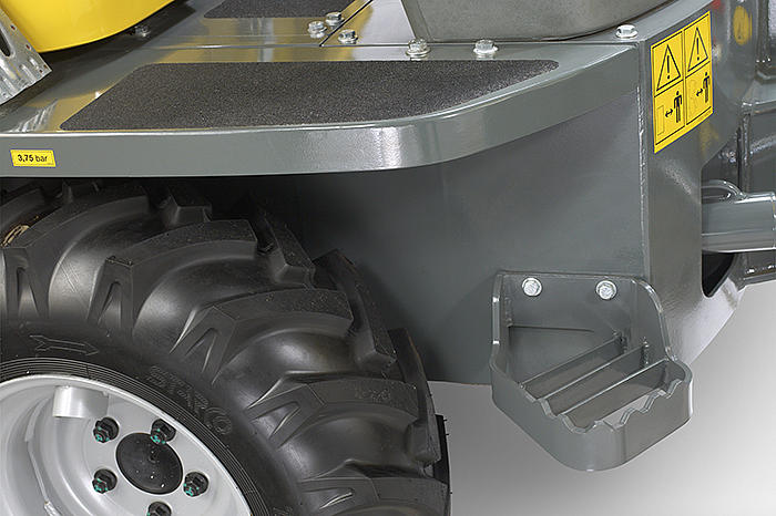 wheel dumper 2001 detail